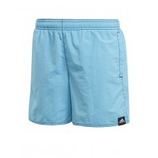 ADIDAS Kids Solid Swim Shorts Blue