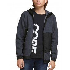 JACK i JONES Boys Sweat Zip Hoodie Navy