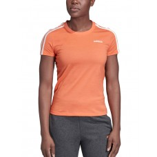 ADIDAS Essentials 3-Stripes T-Shirt Orange