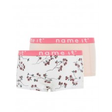 NAME IT 2-pack Hipster Shorts Bright White