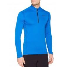 ADIDAS TraceRocker 1/2 Zip Longsleeve T-Shirt Blue