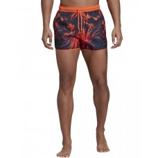 ADIDAS Split AOP Swim Shorts Navy