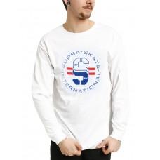 SUPRA Skate International Blouse White