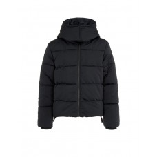 NAME IT High Neck Puffer Jacket Black