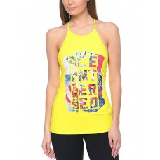 REEBOK Lm Balance Long Tank Yellow