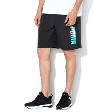 PUMA Casual Logo Shorts Green