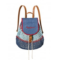 PEPE JEANS Macrame Backpack Blue