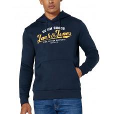 JACK i JONES Superior Regular Fit Hoodie Navy