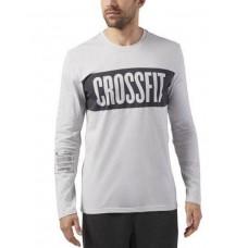REEBOK CrossFit Stripe Long Sleeve Tee