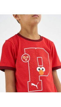 PUMA x Sesame Street Graphic Tee Red