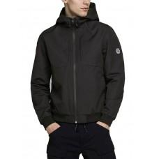 JACK i JONES Joe Hooded Jacket Black