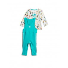 ADIDAS Jumpsuit Set Aqua Multicolor