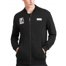 PUMA AC Milan Premium Bomber Jacket Black