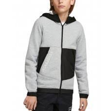 JACK i JONES Boys Sweat Zip Hoodie Grey