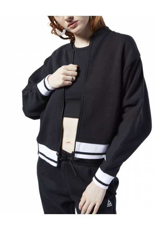 REEBOK Ready Meet You There Track Jacket Black