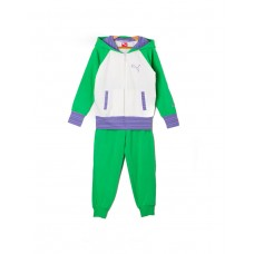PUMA Sweat Hood Suit Multicolour White