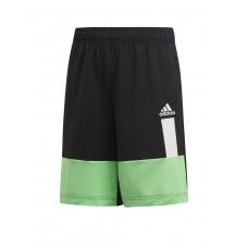 ADIDAS Kids Colour Block Shorts Black