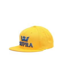 SUPRA Above II Snapback Hat Caution/Ocean