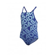 ADIDAS Pro Graphic Swim Suit Blue
