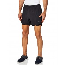 ADIDAS Own the Run 2-in1 Shorts Black