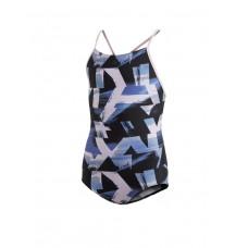 ADIDAS Allover Print Swim Suit Multi