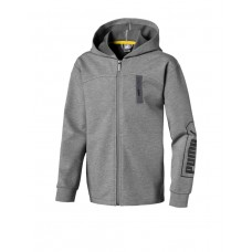 PUMA Nu-Tility Hooded Jacket Grey