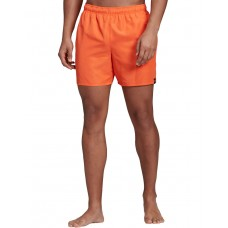 ADIDAS Solid Swim Shorts Orange