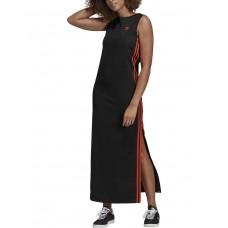 ADIDAS Originals 3-Stripes Long Dress Black