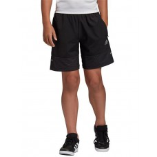 ADIDAS Kids Run Woven Shorts Black