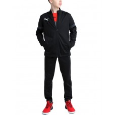 PUMA Football Play Tracksuit Black