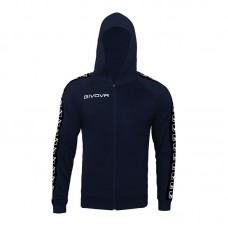 Детски Суичър GIVOVA Felpa Full Zip Band 0004