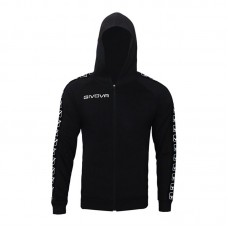Детски Суичър GIVOVA Felpa Full Zip Band 0010