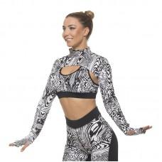 Спортни Ръкави EX FIT Zebra