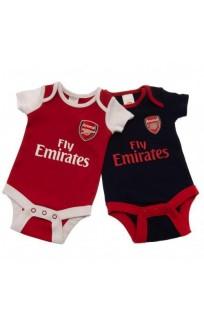 Бебешки Дрехи ARSENAL 2 Pack Bodysuit
