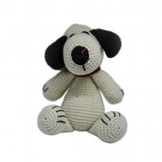 Снупи - детска плетена играчка